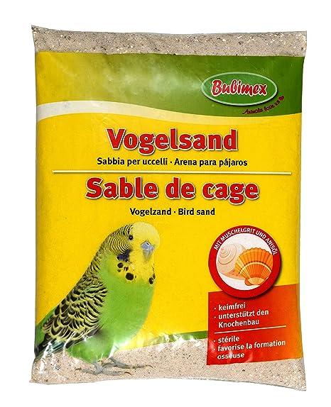 Bubimex Arena de Jaula para pájaro: Amazon.es: Productos para mascotas