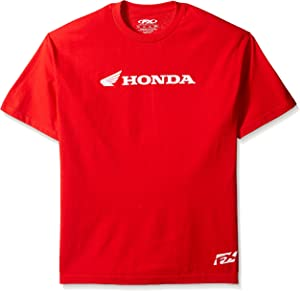 Factory Effex 15-88334 'Honda' Horizontal T-Shirt (Red, X-Large)