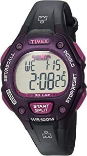 df6d6088a179 Amazon.com  Timex Men s T5E901 Ironman Classic 30 Gray Black Resin ...