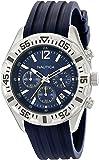 Nautica Men's N17667G NST 402 Stainless Steel Multifunction Watch