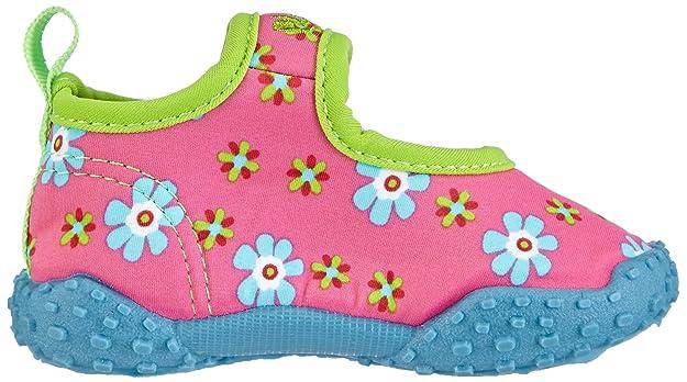 Playshoes Aquaschuhe, Badeschuhe Erdbeeren mit höchstem UV-Schutz nach Standard 801 - Escarpines para niñas, color pink (original 900), talla 26/27