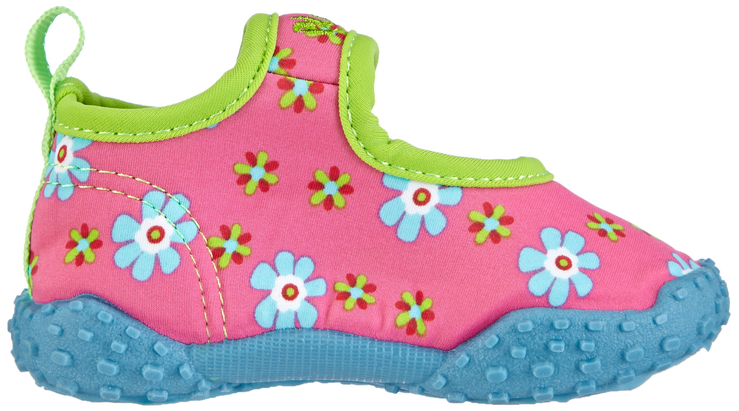 Playshoes Girl's UV Protection Flower Collection Aqua Swimming/Beach Shoes (4.5 M US Toddler) by Playshoes (Image #7)