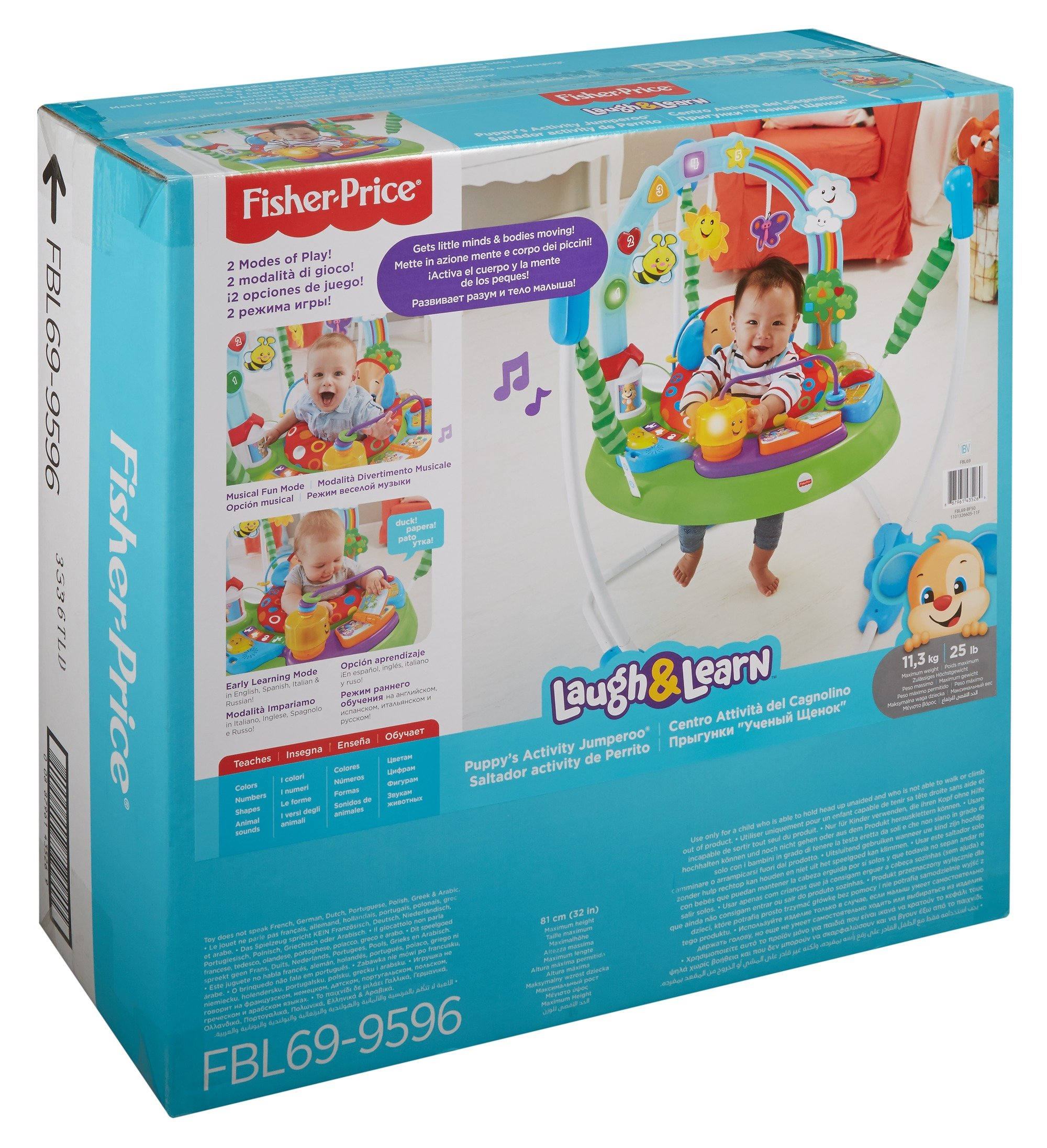 Fisher-Price Laugh And Learn Puppy'S Activity Jumperoo by Fisher-Price (Image #7)