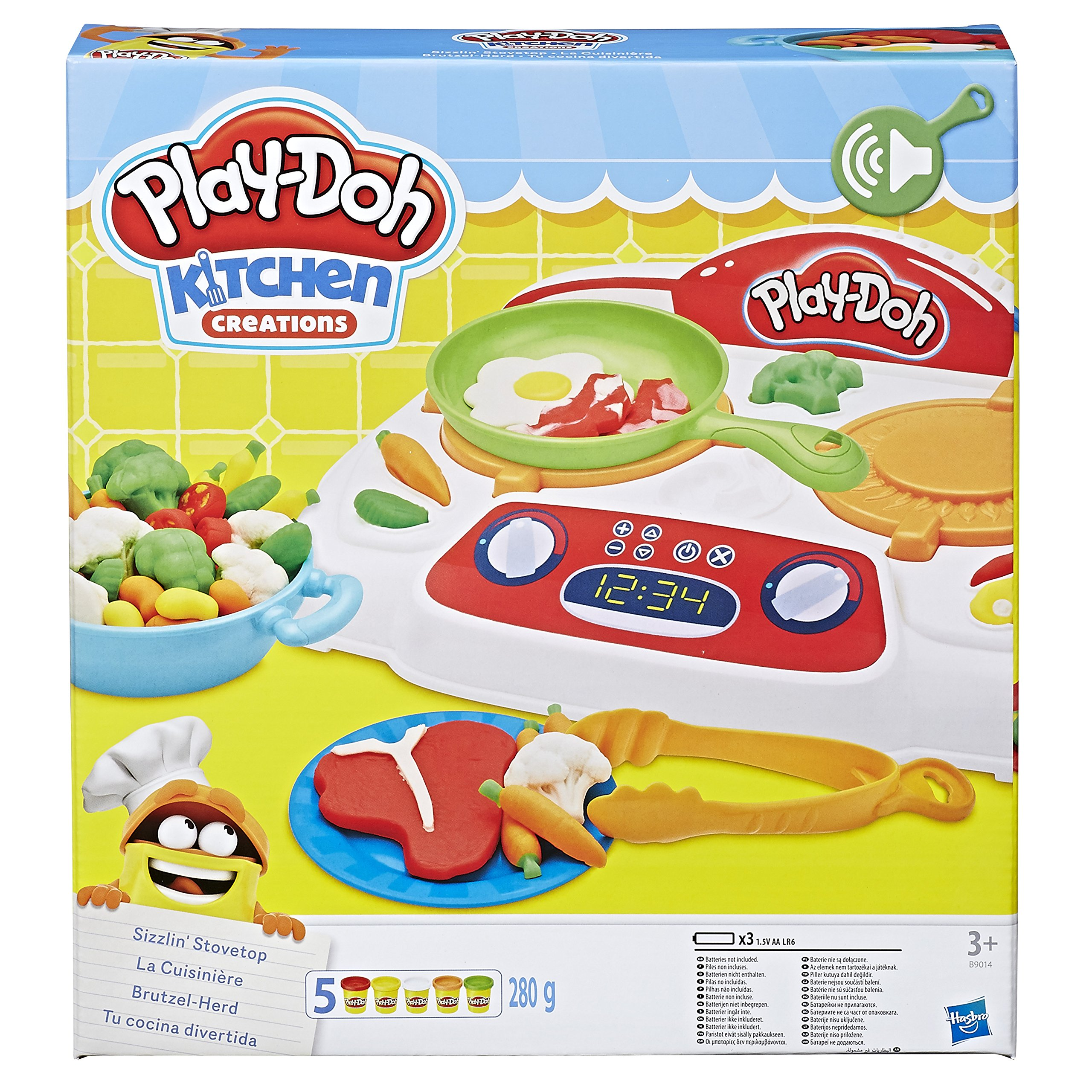 Play-Doh - B9014 - Kitchen Creations Sizzling Stovetop by Play-Doh (Image #10)