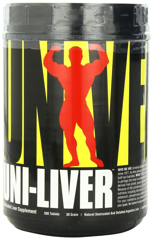 Universal Nutrition Uni-Liver 30 Grain Standard - 4 Paquetes de 500 Tabletas: Amazon.es: Salud y cuidado personal