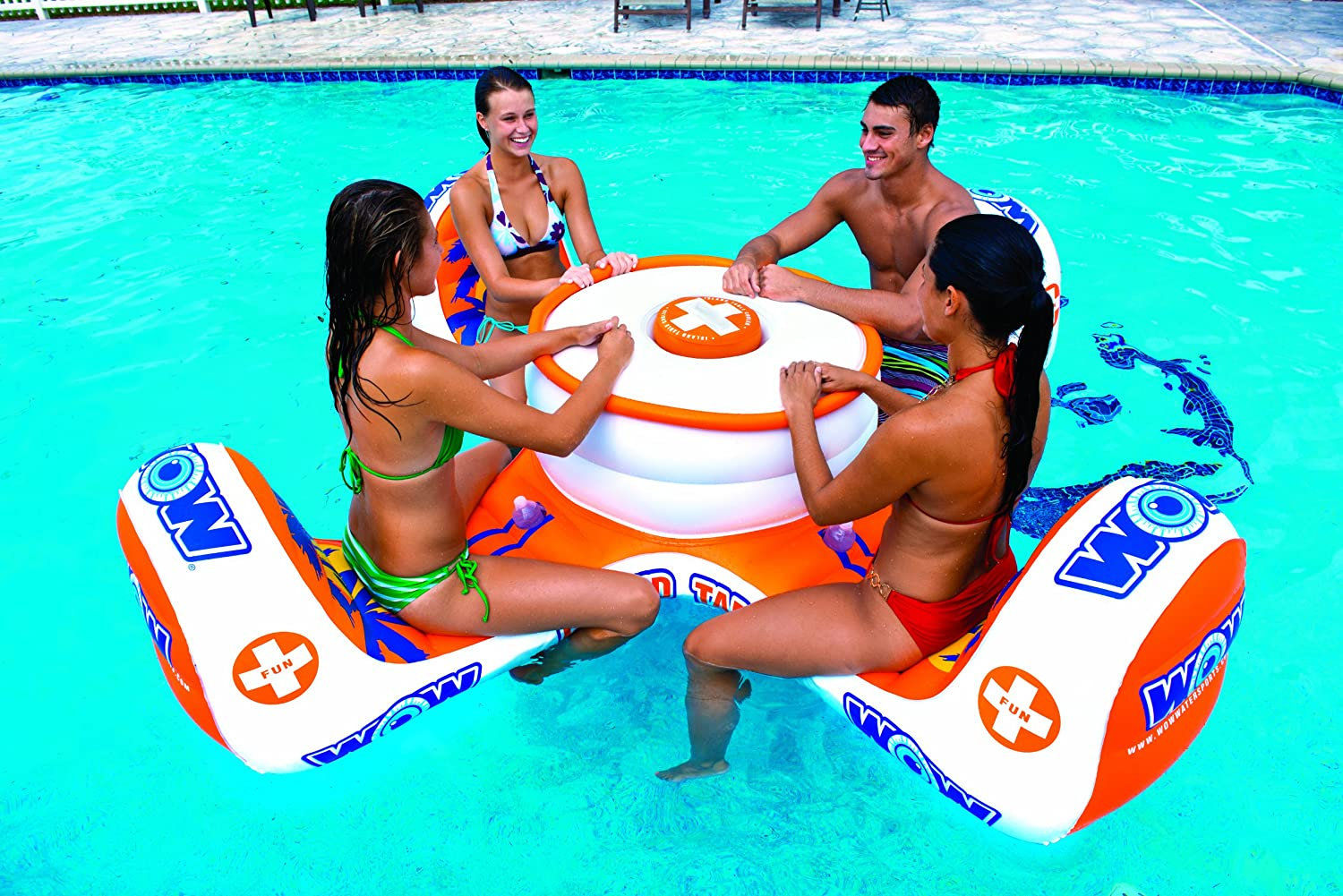 Inflatable Table Amazoncom Wow World Of Watersports 14 2010 Island Table