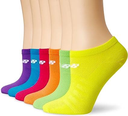 New Balance Unisex 6 Pack No Show Lifestyle Socks