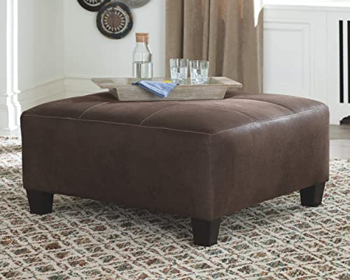 Signature Design Square Ottoman