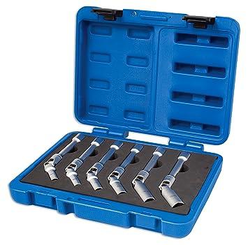 Laser 4324 - Juego de llaves universales para bujías (12 piezas): Amazon.es: Coche y moto