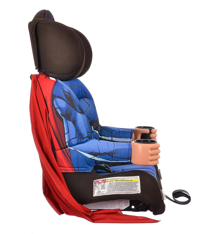 KidsEmbrace Batman Booster Car Seat DC Comics Combination 5 Point Harness With Cape
