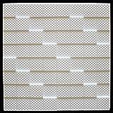 20 m² Deckenplatten Styroporplatten Stuck Decke Dekor Platten 50x50cm, MANHATTAN