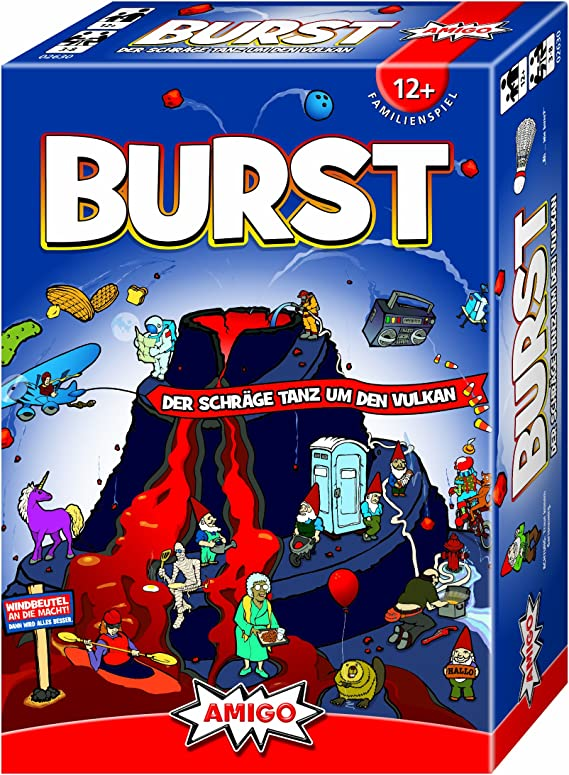 Amigo 02630 Burst Partyspiel - Juego de Mesa (Contenido en alemán): Amazon.es: Juguetes y juegos