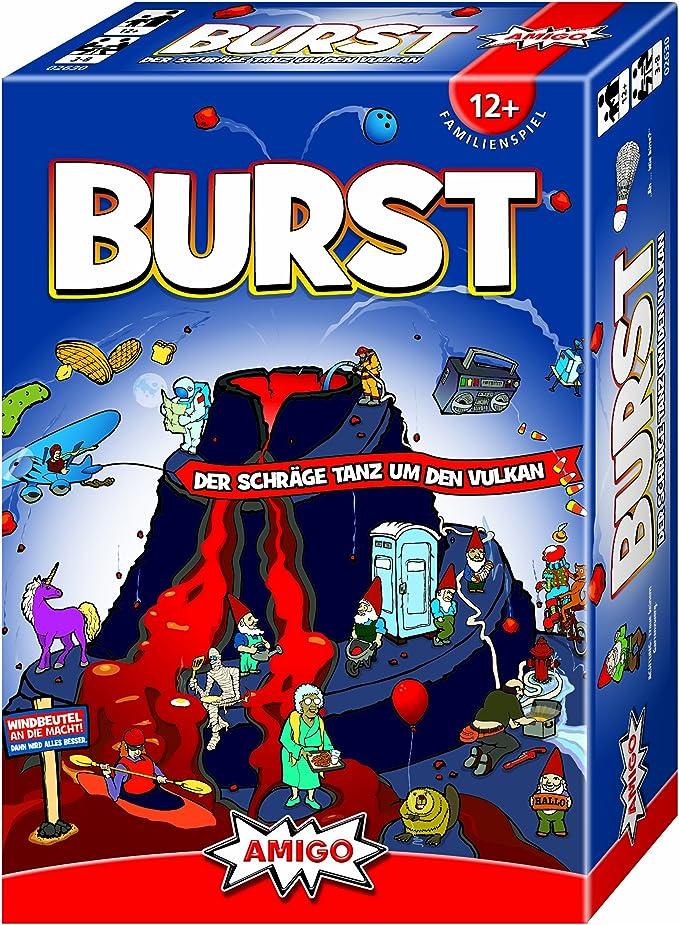 Amigo 02630 Burst Partyspiel - Juego de Mesa (Contenido en alemán ...
