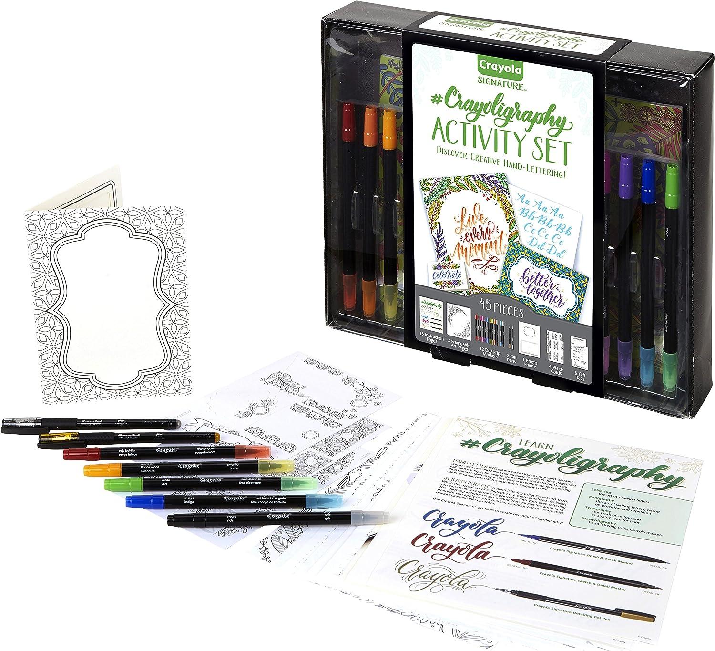Crayola 45-Piece  Hand Lettering Art Set $8.24 Coupon