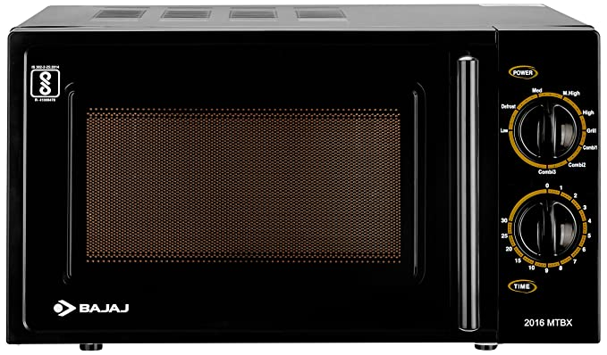 Image result for bajaj 20 l grill microwave oven (mtbx 2016 black) review