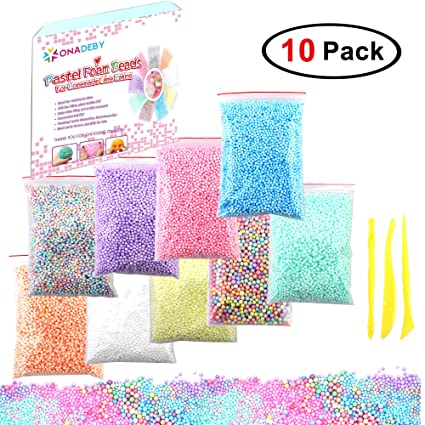 Amazon Com Easter Day Gifts 10 Packs Spring Colors Pastel Foam
