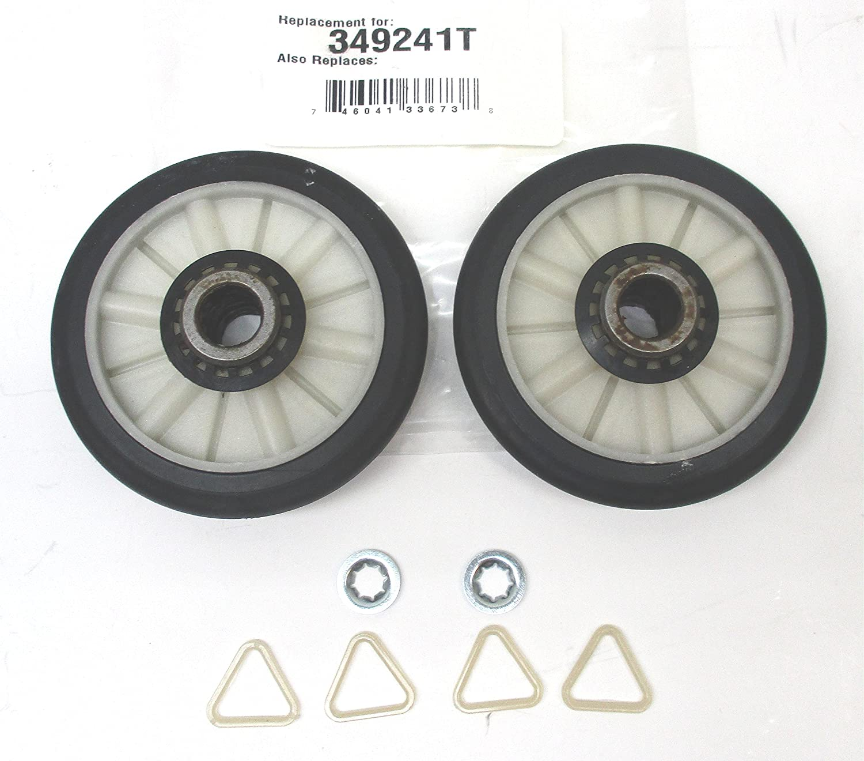 349241T - Admiral Aftermarket Replacement Dryer Drum Roller Set