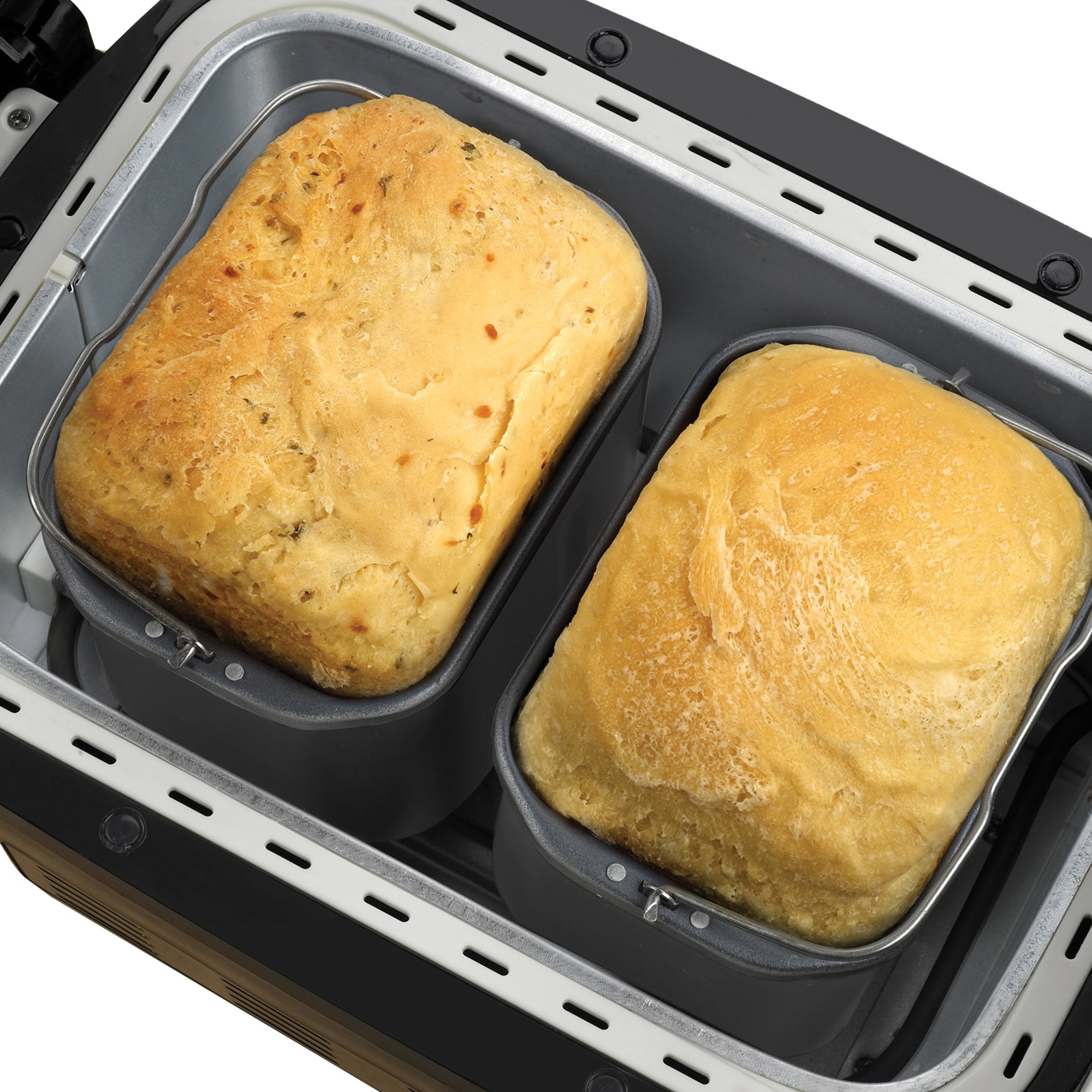 Breadman BK2000B 2-½-Pound Bakery Pro Bread Maker with Collapsible Kneading Paddles and Automatic Fruit and Nut Dispenser by Breadman (Image #3)