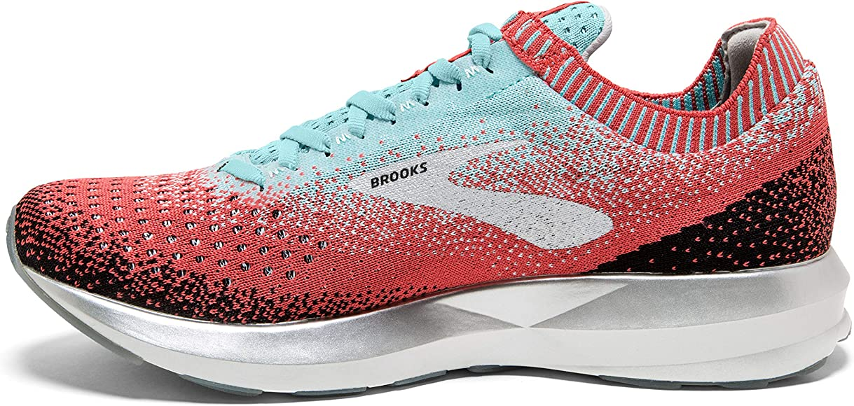 Brooks - Levitate 2 - Zapatillas para correr para mujer, (Coral/Azul/Negro), 39.5 EU: Amazon.es: Deportes y aire libre