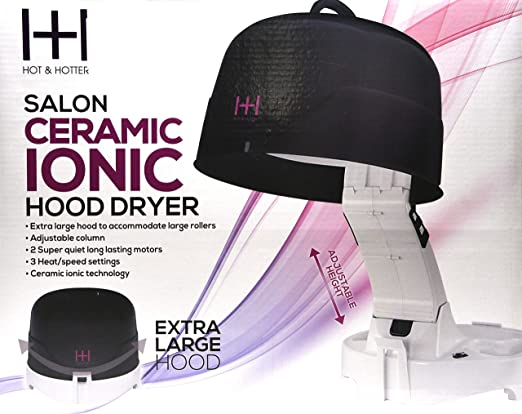 Amazon.com: Annie Hot & Hotter Extra Large 1500 Ceramic Ionic Hood Dryer, 8 Pound: Beauty