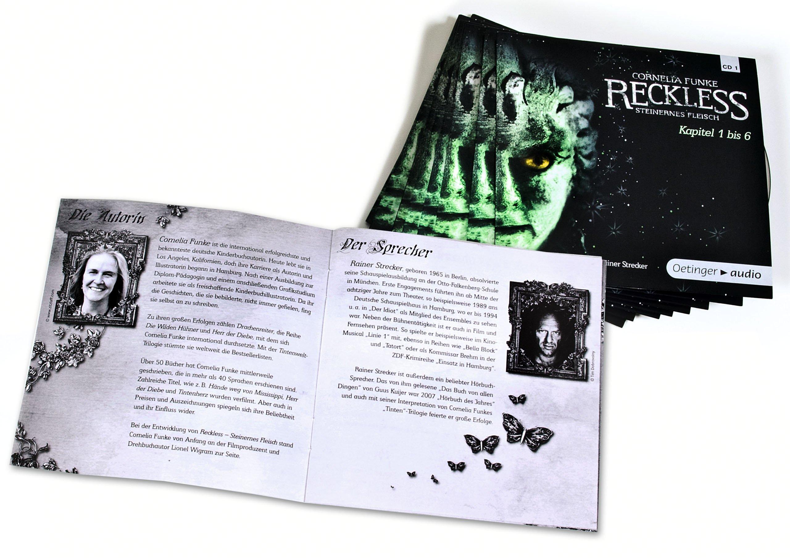 Reckless 8 CD Steinernes Fleisch Amazon Cornelia Funke