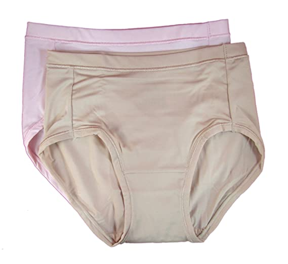 b7e4ca267142 Image Unavailable. Image not available for. Color: Hanes Women's Premium  Invisible Smooth Low Rise Briefs, 2 Pack ...