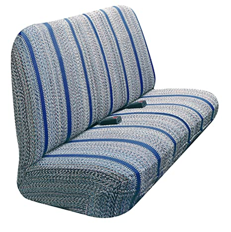Automotive Innovations Blue Olefin Saddle Blanket Front Bucket Universal Fit Seat Cover