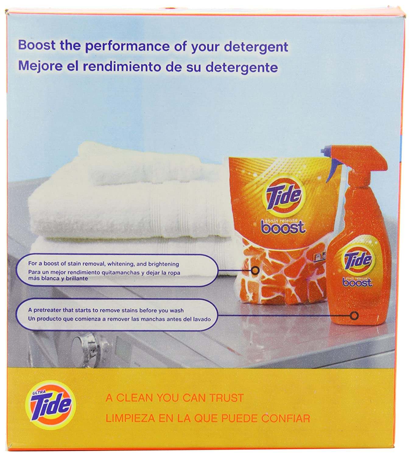 Amazon.com: Tide Ultra He Laundry Detergent Powder, Clean Breeze Scent, 42 Ounce: Health & Personal Care