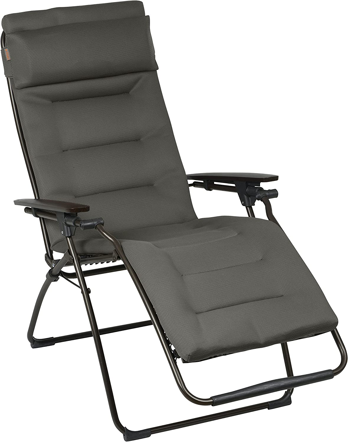 Lafuma Futura Air Comfort – Zero Gravity Recliner – Brown Frame – Taupe Air Comfort Fabric