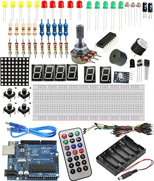 32 opinioni per [Sintron] NEW! Starter Kit with UNO R3 board Components Sensors LED etc. ..for