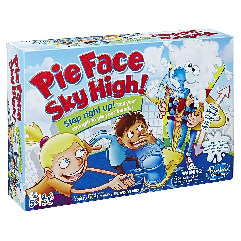 Pie Face Sky High Juego De Mesa Hasbro C2130 Adornos De Navidad