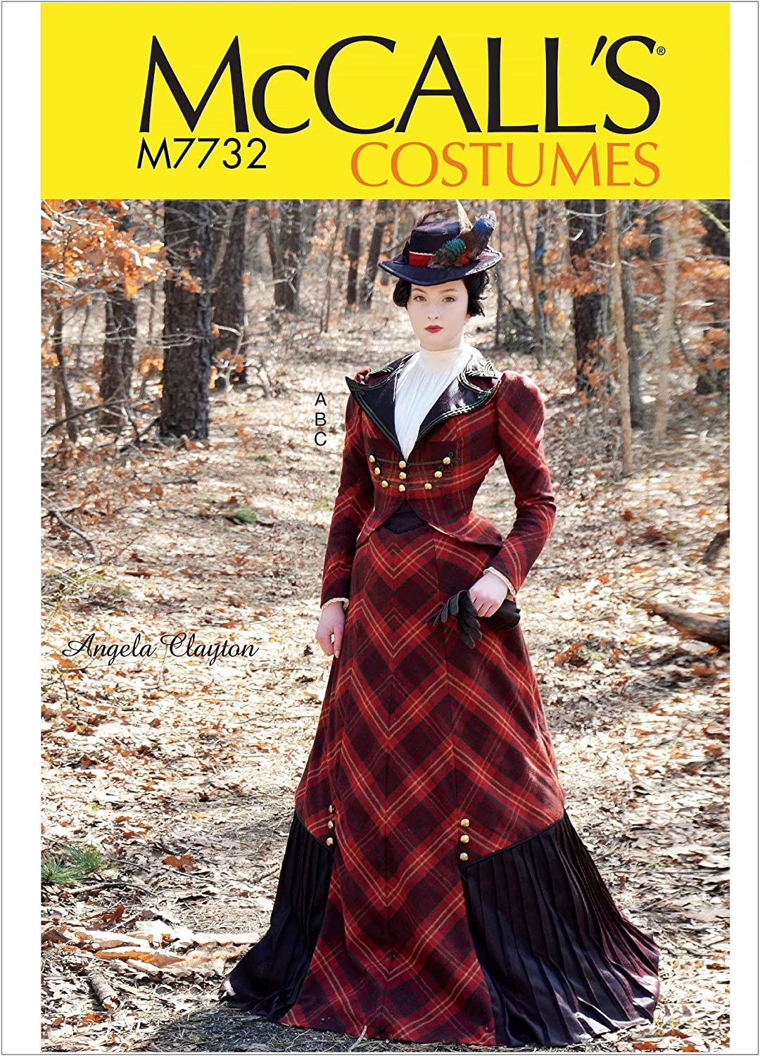 Sizes 14-22 various McCall Pattern Company McCalls Womens Victorian Dress Costume Sewing Pattern by Angela Clayton