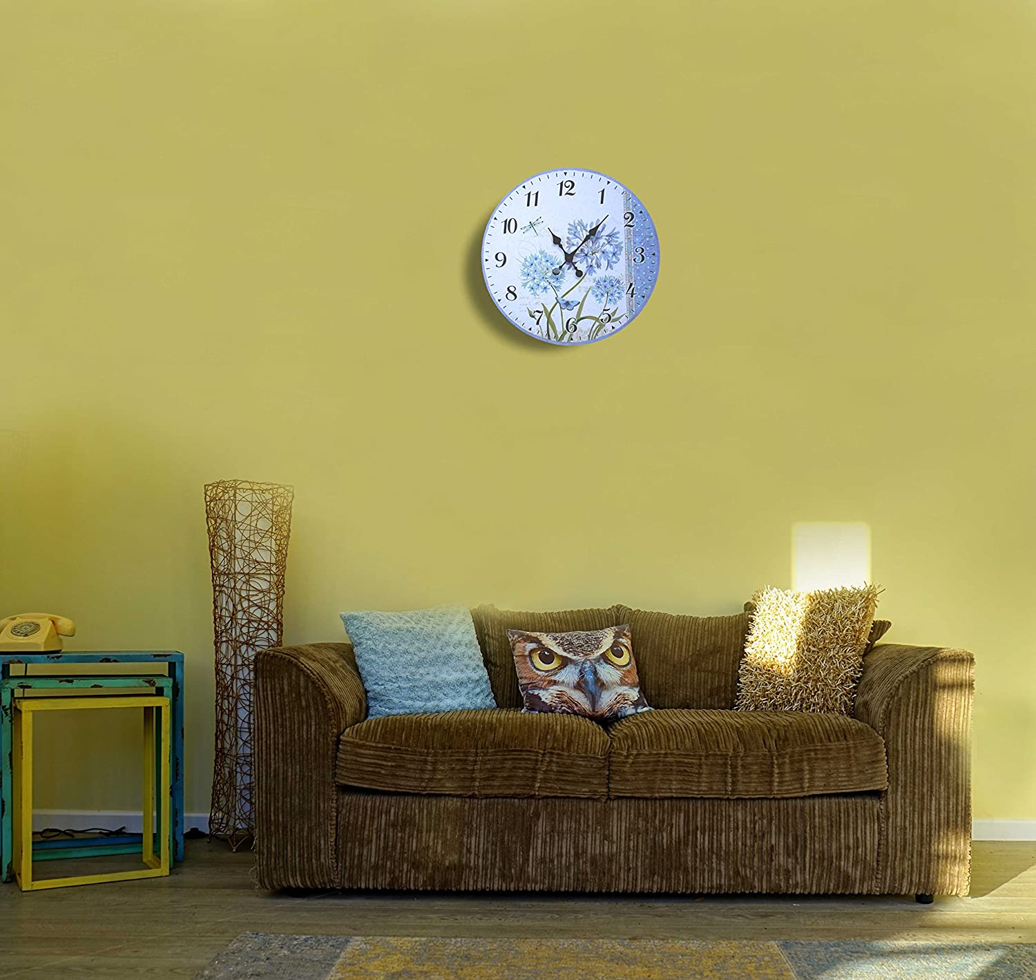 Funky Lulu Decor Wall Clock Picture Collection - Wall Art Ideas ...