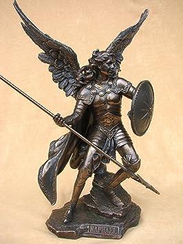 Figura Veronese del Arcángel Rafael con Lanza