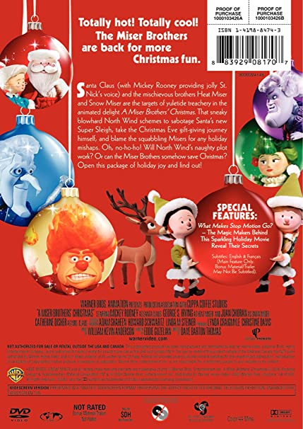 A Miser Brother's Christmas: Deluxe Edition: Amazon.ca: Various: DVD