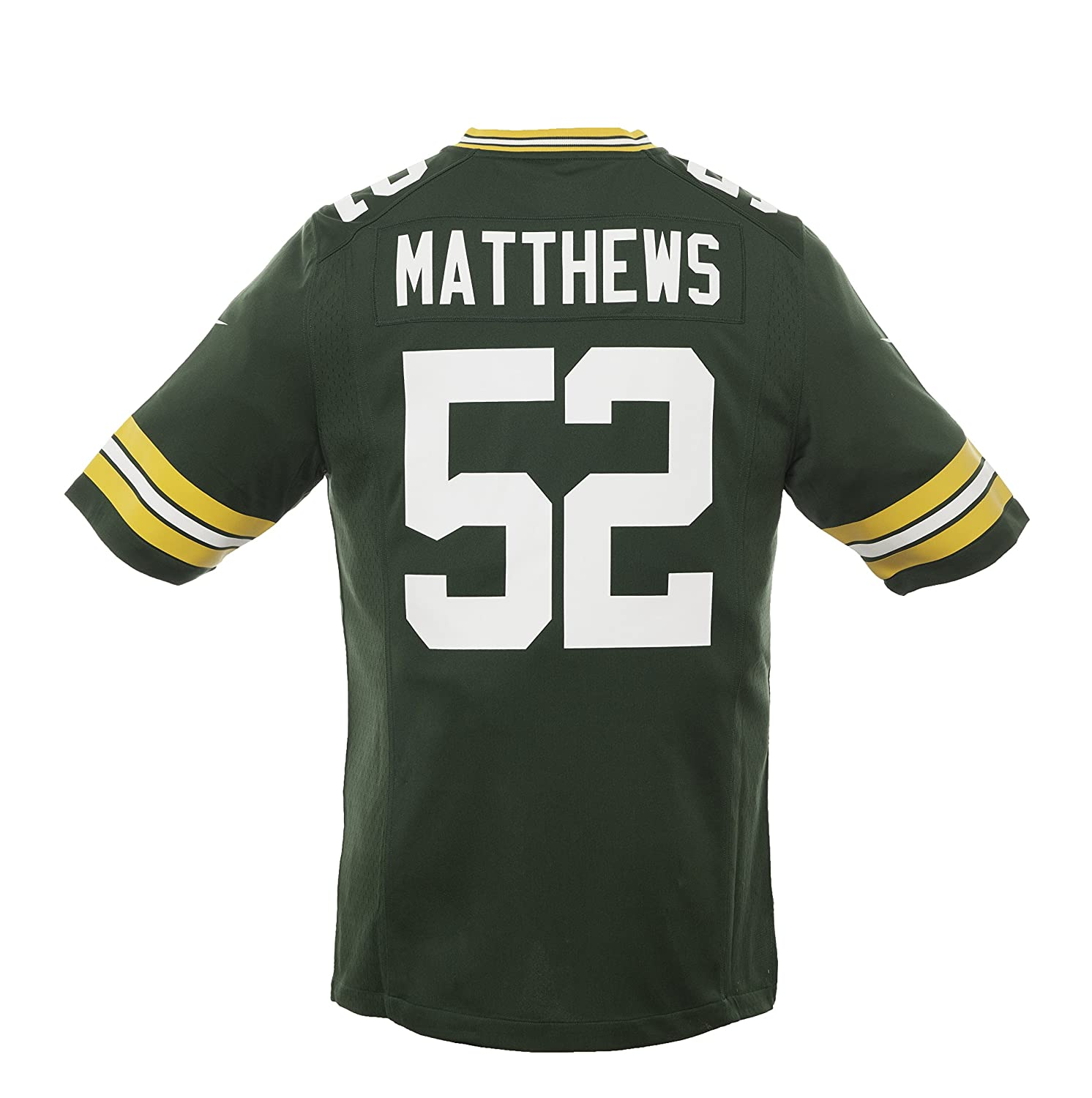 2ed369cec Amazon.com   Nike NFL Green Bay Packers Clay Matthews Jersey Green -Sport  Central is Authentic   Sports   Outdoors