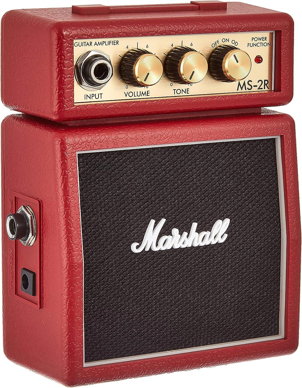 Marshall MS-2R 1.0 Alámbrico - Amplificador de Audio (1.0 Canales, 1 W, 3.5mm, 3,5 mm)