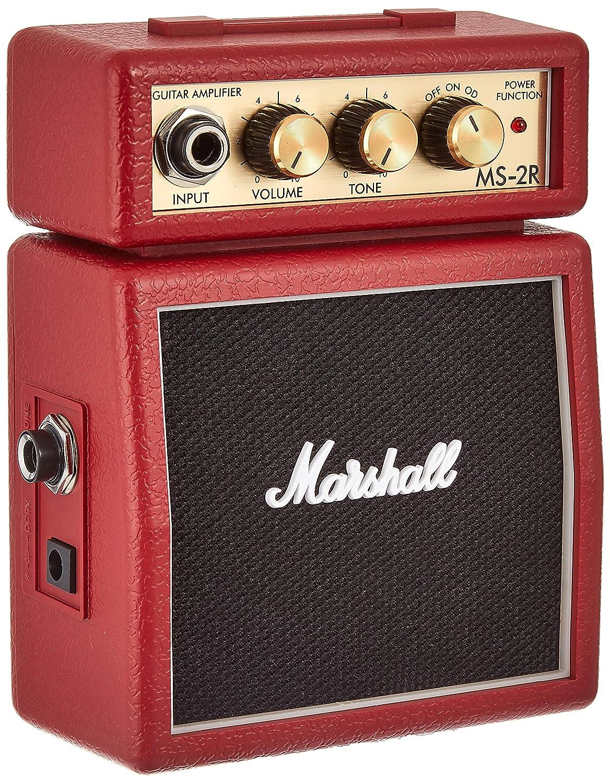Marshall Amp MS2 Mini Amp: Red