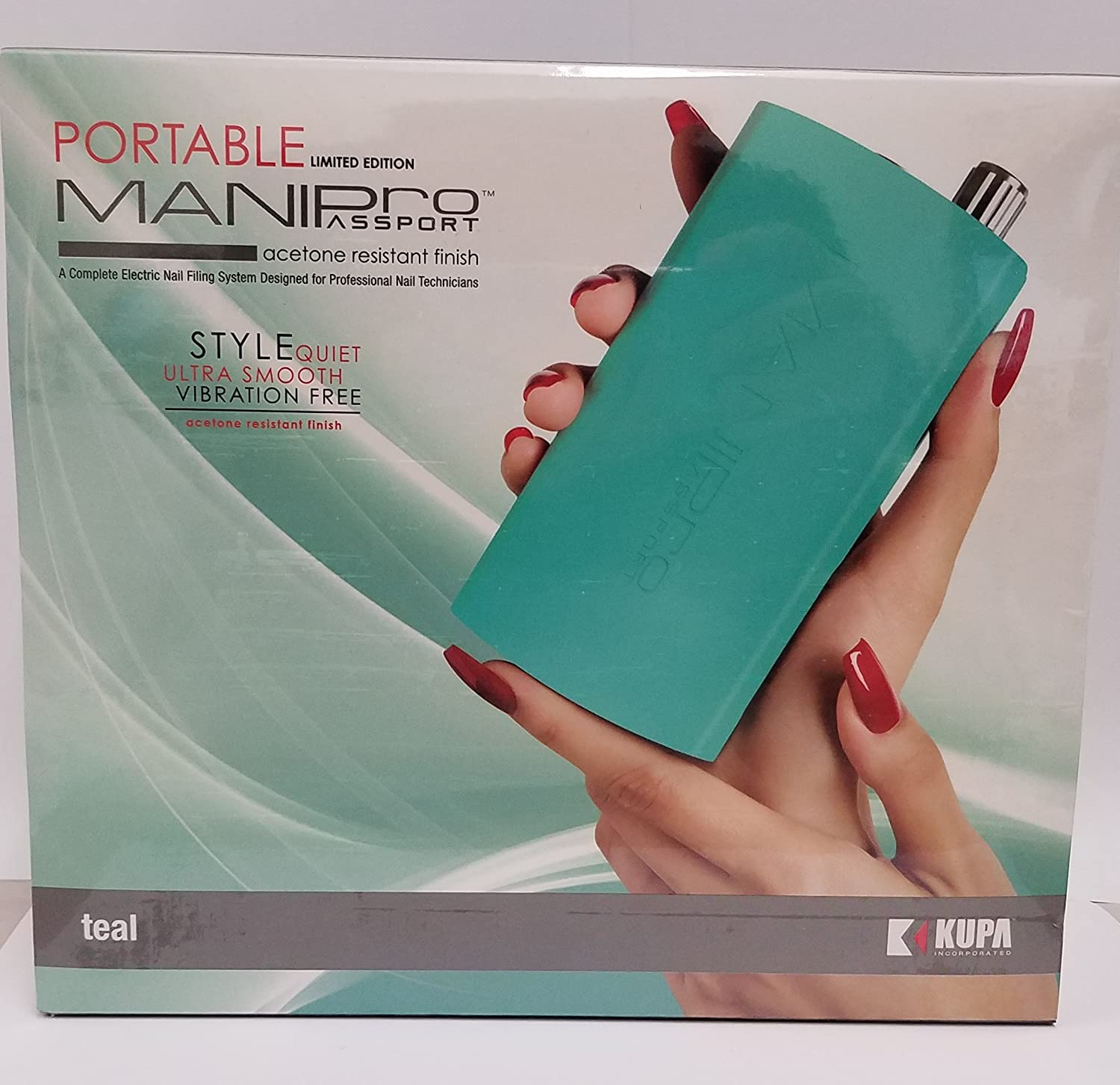 Amazon.com : Mani-pro Passport Portable Electric Nail File \