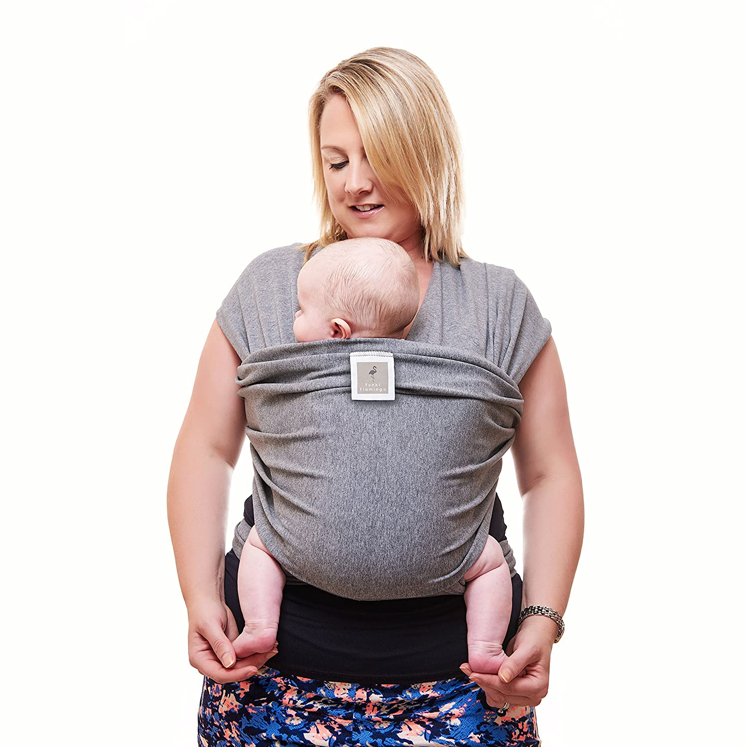Premium Baby Carrier Neutral Grey e Size Fits All