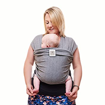 Premium Baby Carrier Neutral Grey One Size Fits All Cozy