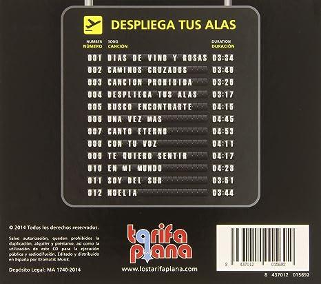 Despliega tus alas: Tarifa plana: Amazon.es: Música