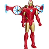 Marvel Titan Hero Series Iron Man Figure with Hover Pack