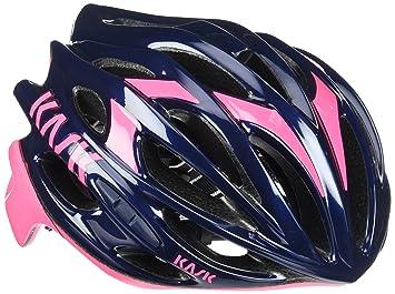 Kask - Mojito 16 - Casco para bicicleta, Adultos , Azul/Rosa, M