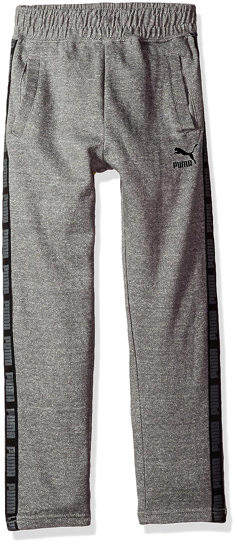PUMA Big Boy's Boys' Tapered Pant Pants, Charcoal Heather, Large 91173225FAZ-P011