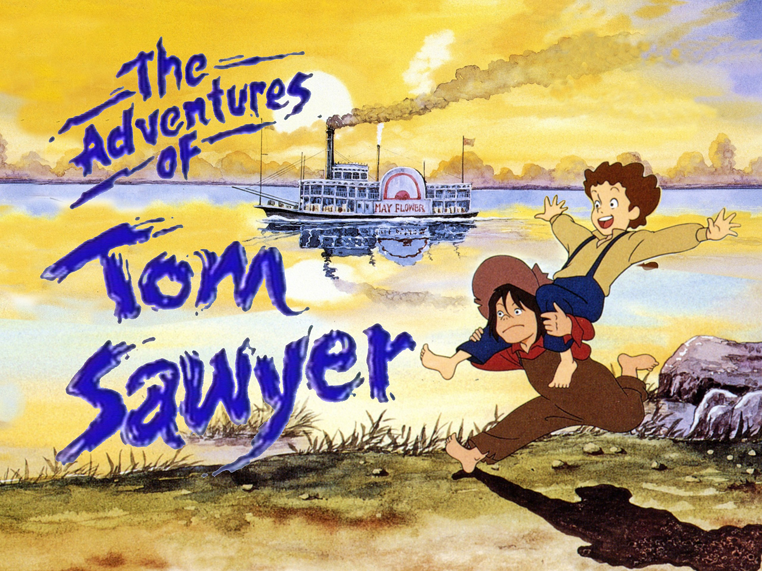 The Adventures of Tom Sawyer anime visual