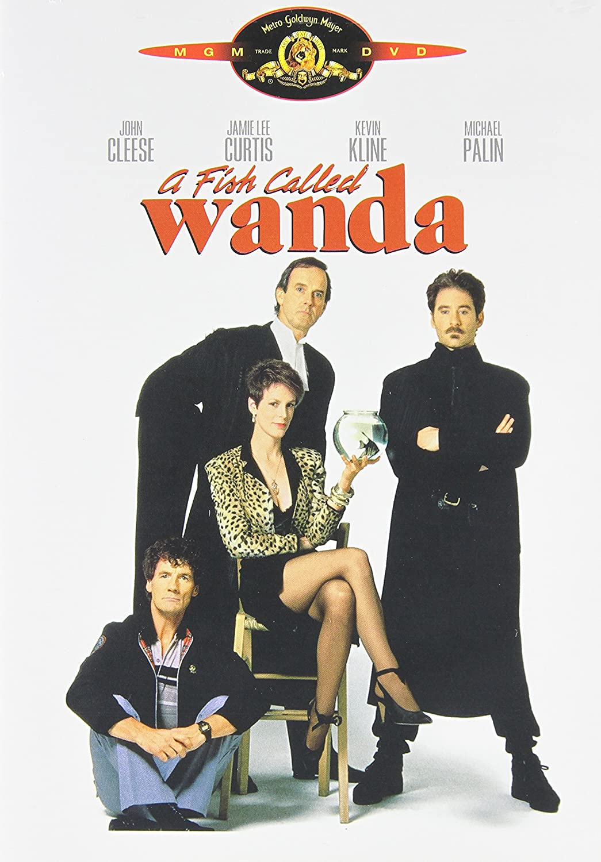 A Fish Called Wanda Cynthia Cleese Kevin Kline John Cleese Jamie Lee Curtis