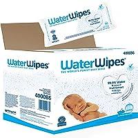 WaterWipes Baby Wipes Sensitive Newborn Skin, 1080 Wipes (18 Packs of 60 Wipes) (Packaging may vary)