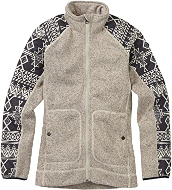 85a2d080772 Amazon.com: Burton Pierce Fleece Womens Sz S Dove Heather: Clothing