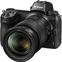 "Nikon Z7 + NIKKOR Z 24-70 f/4 S + FTZAdattatore Fotocamera Mirrorless Full Frame, CMOS FX da 45.7 MP, 493 Punti AF, Mirino OLED da 3.686k, Video 4K, LCD 3.2"", Nero [Nital Card: 4 Anni di Garanzia]"